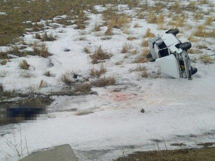 ВБашкирии шофёр ВАЗ-2107 умер, опрокинув автомобиль